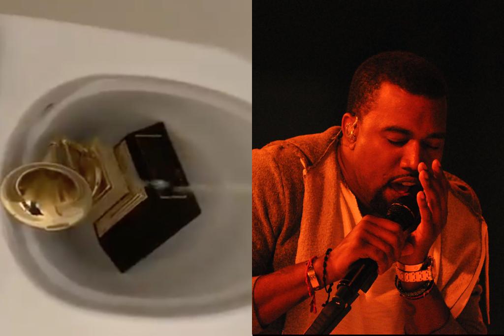 Kanye West Urinates On Grammy Award In Battle For Masters OwnershipGuardian Life