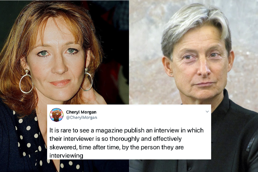 Judith Butler and JK Rowling