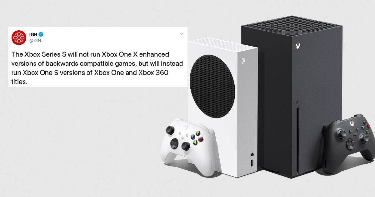 Xbox Series S Backwards Compatibility Explained Plus All The Memes