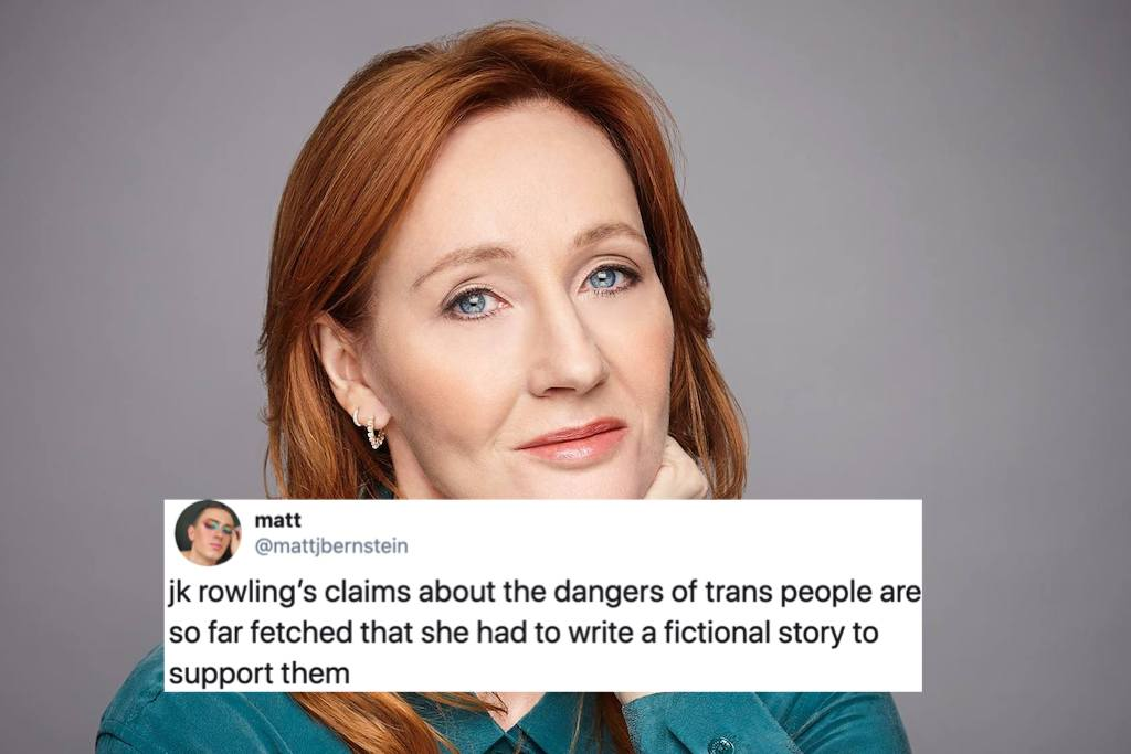 J.K. Rowling's new book features a cross-dressing serial killer, and trans people are tired