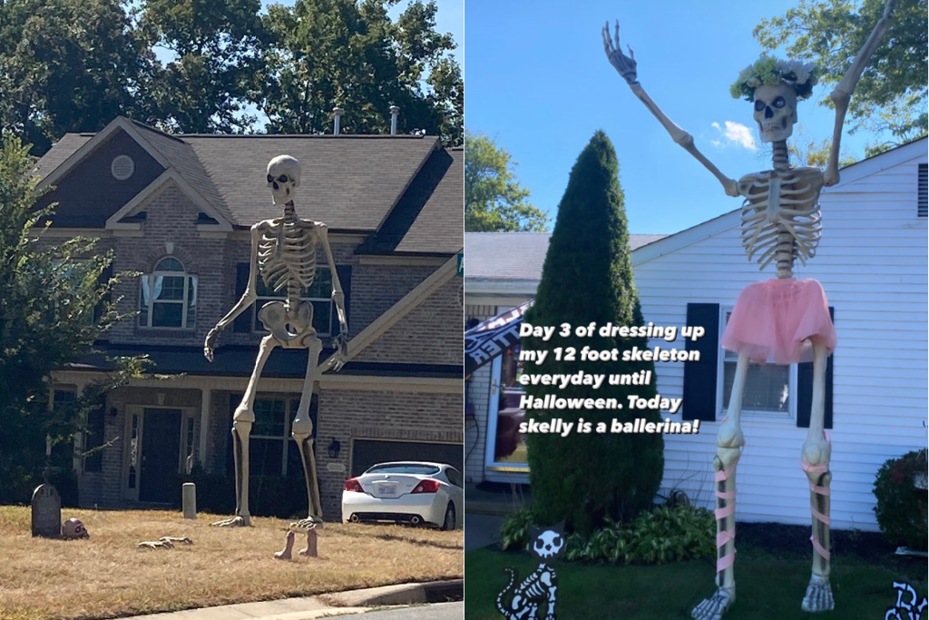 12 Foot Skeleton From Home Depot Is The Internet S Obsession