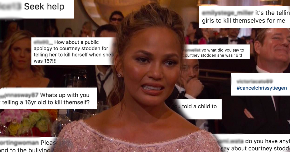 Chrissy Teigen Accused Of Bullying Courtney Stodden When She Was 16