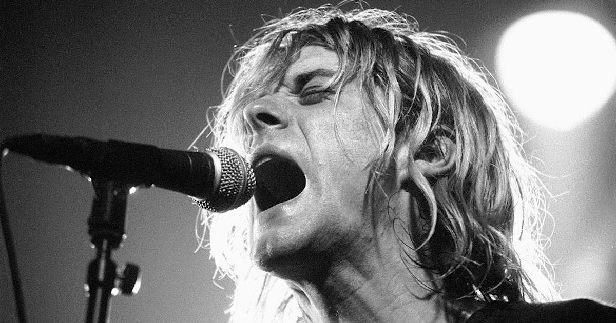 Kurt Cobain's Isolated Vocals For 'Smells Like Teen Spirit' Will Give You Chills